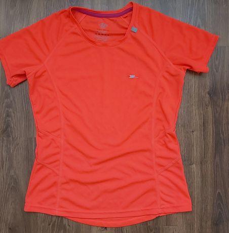 CRANE bluzka koszulka sportowa Neon S  neonowa