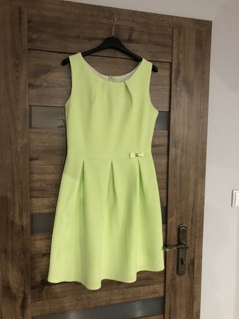 Sukienka limonkowa M