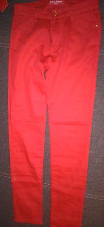 Spodnie czerwone T38 NOWE