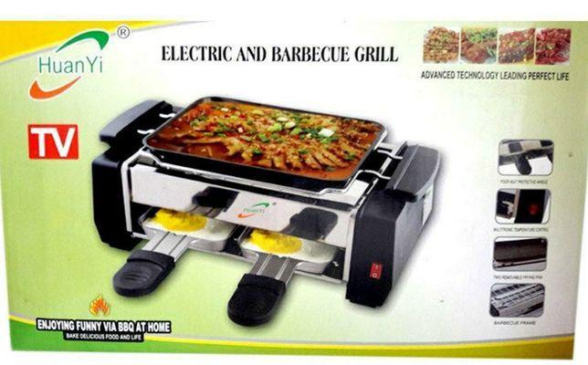 Электрический гриль-барбекю - Electric and Barbecue Grill HY9099А D100
