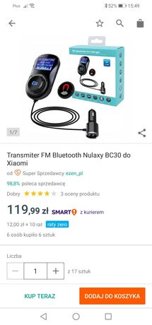 Transmiter FM Bluetooth Xiaomi BC 30
