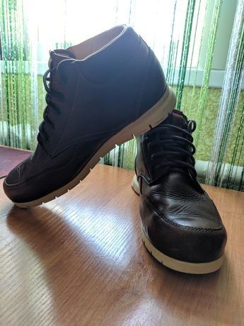 Итальянские кожаные ботинки MEINDL