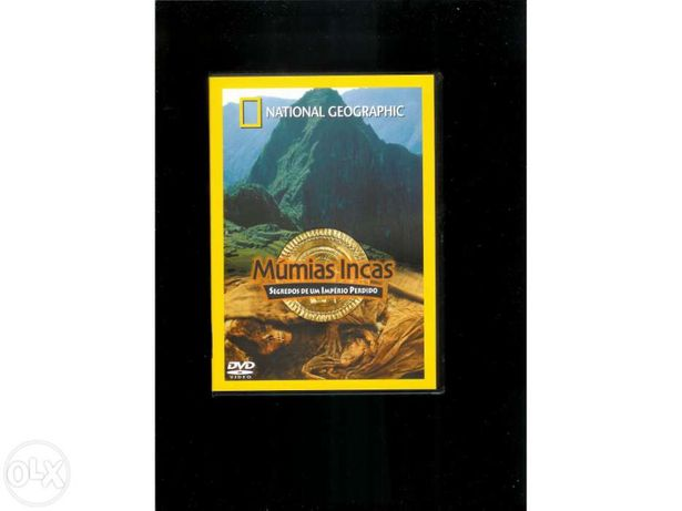 Múmias Incas - national geographic (portes incluídos)