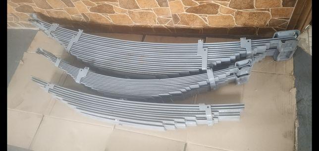 Рессоры газ 53  ЗИЛ 130 усиленные на самосвал авторазборка