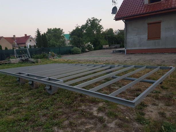 Rama pod domki mobilne kontener całoroczny 8x4 m