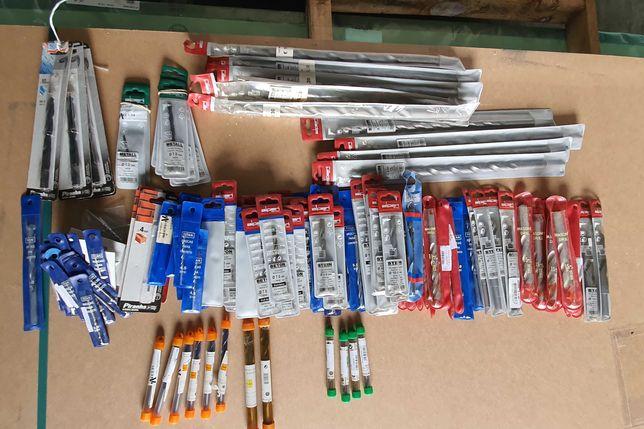 Conjunto de brocas para betao, metal e madeira