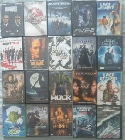 20 Filmes em DVD Ediçao francesa (vendo a unidade 2€ cada)