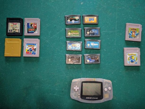 Jogos Gameboy - Nemo, Lucky Duke, Spiderman, ToyStory 2...