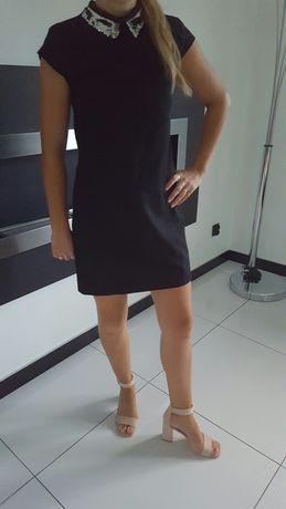 sukienka czarna s