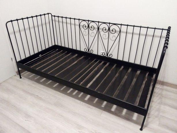 Łóżko metalowe Ikea Mendal 90x200