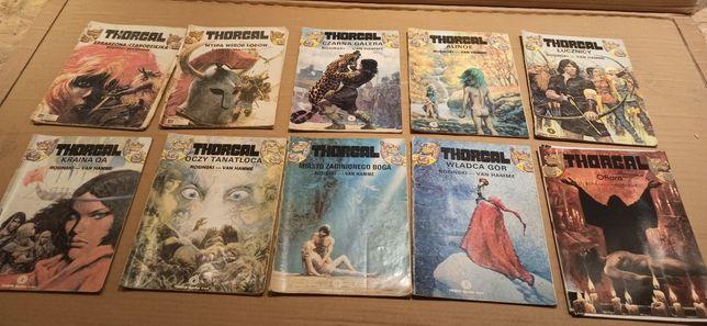 Thorgal 10 sztuk Rosiński i Van Hamme