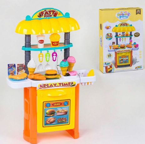 Кухня фаст фуд, кухня для детей