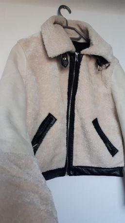 Puszystka kurtka BERSHKA - dostawa GRATIS