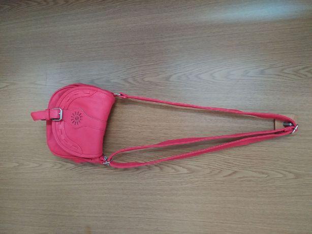Mała torebka czerwona