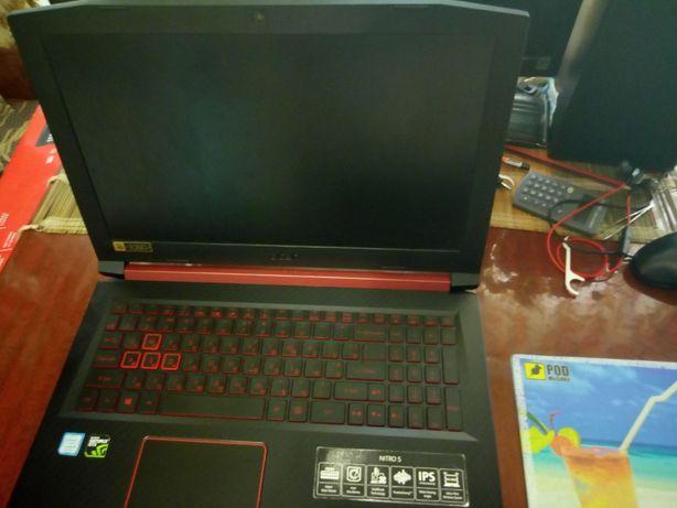 Ноутбук acer nitro 5 an515-52-54QZ
