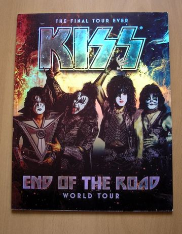 KISS TourBook : End Of The Road - World Tour
