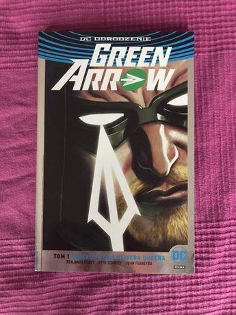 Green arrow, komiks, nowy