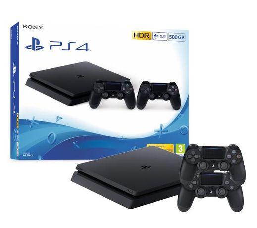 Konsola Sony PlayStation 4 Slim 500GB +2 pady. Faktura, Gwarancja.