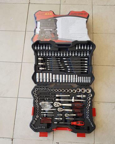 Mala de ferramenta como 215 peças nova