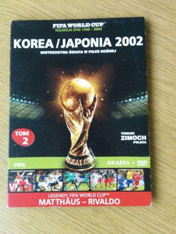 DVD + Książka Piłka Nożna Korea/Japonia 2002 Tom 2