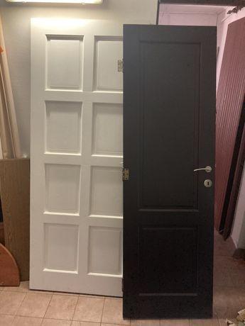 Drzwi wewnetrzne drewniane, uzywane.