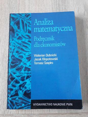 Podręczniki dla studentów matematyki, algebra, analiza matematyczna
