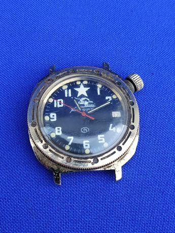 Часы командирские механические работают