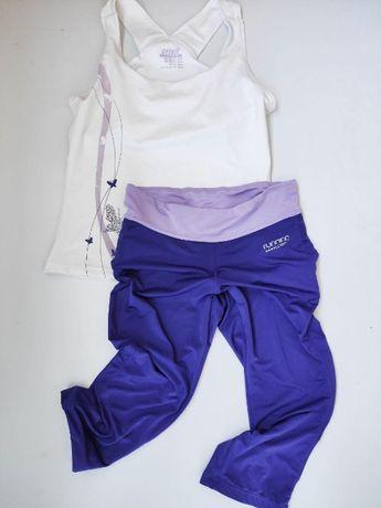 Спортивный костюм, леггинсы топ crivit для фитнеса, йоги, бега S