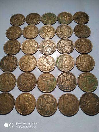 1 korona Czechosłowacja 30 szt