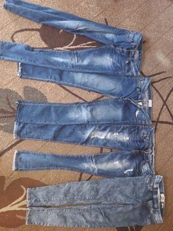 Rurki jeansy s 36 9par