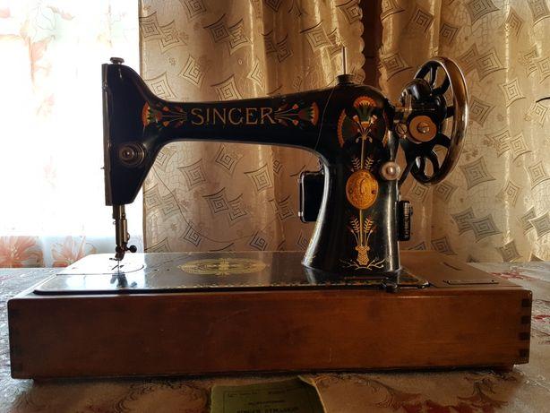 Продам антикварну швейну машину SINGER 1876року срочо