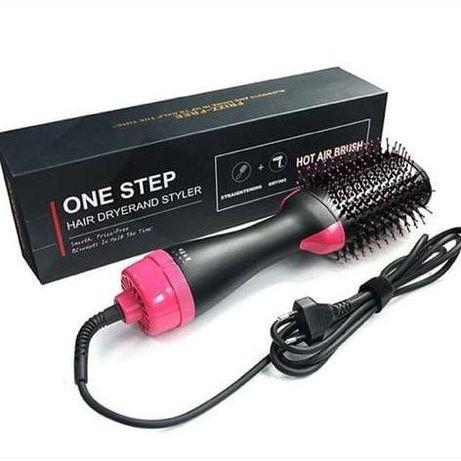 Фен щетка расческа 3в1, стайлер для укладки волос OneStep