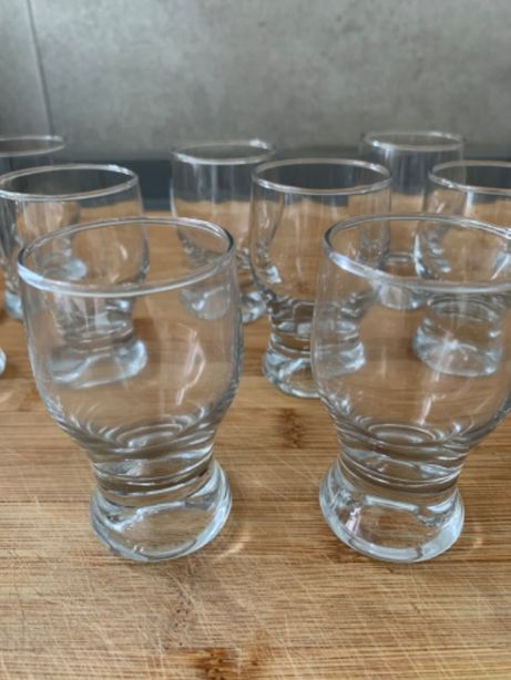 Conjunto 18 copos de vidro shot ou amuse bouche