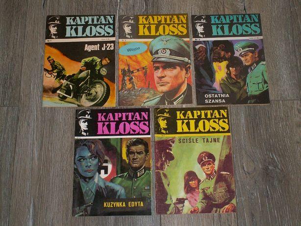KLOSS ! Komplet 20 komiksów ! IDEAŁ ! Wyd. 2- 1983