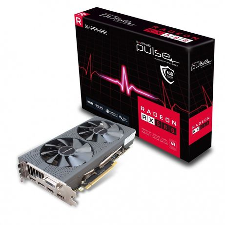 RX 580 sampphire pulse 8gb ddr5