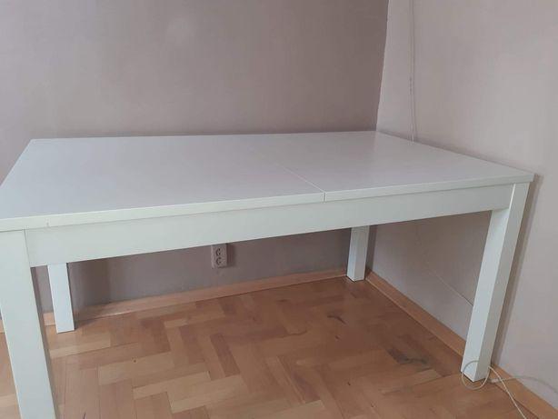 Stół biały 140x84 rozkładany z ikei