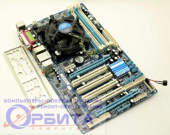 Материнская плата Gigabyte H55M-S2V + i5-650 s1156