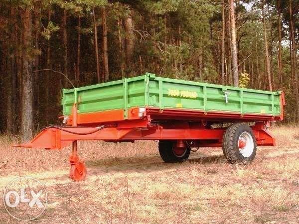 Przyczepa jednoosiowa PRONAR T655 2 t DUŻY RABAT