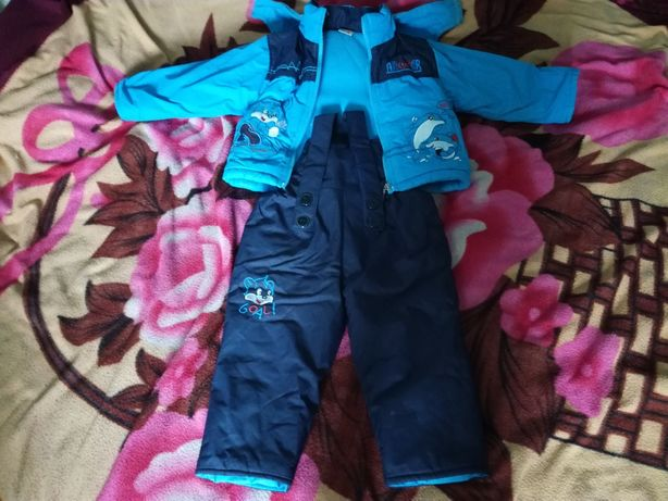Куртка і комбінезон для хлопчика