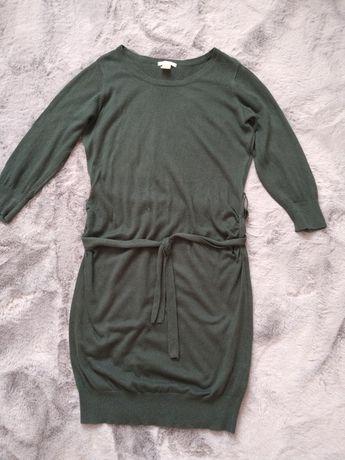 Zielona sukienka H&M Mama rozm. M