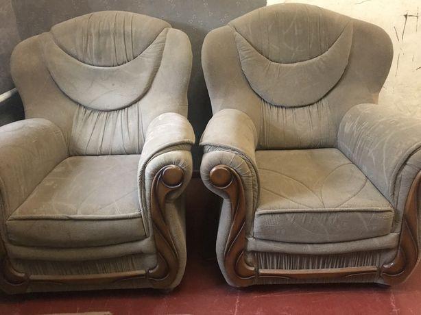 Кресла мягкие / большие кресла 2 шт- 2000 грн