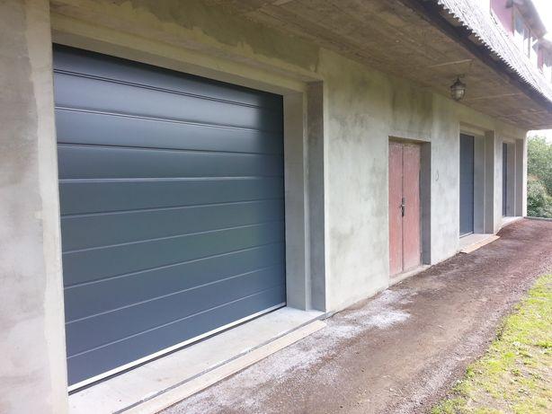 Duży murowany magazyn-garaż w centrum