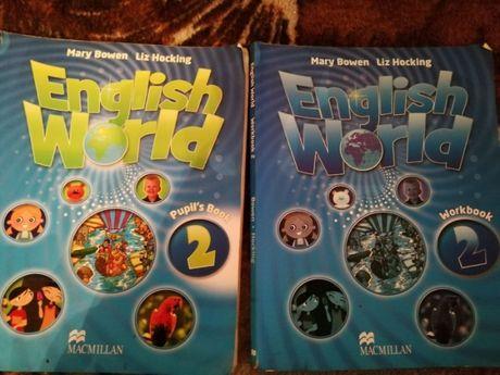 English World Book 2 1 Б/У книжка + тетрадь на 3,4 клас.