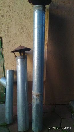 Продам трубы дымоходные цинк