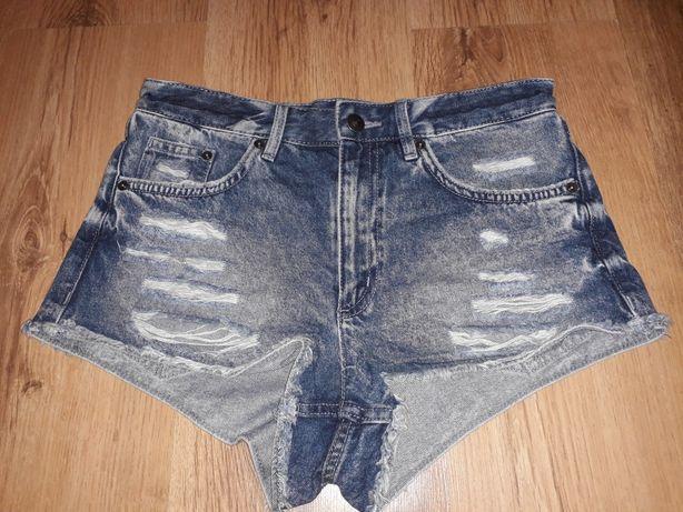 Szorty jeans niebieskie
