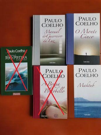Livros de Paulo Coelho a 4,00€/cada