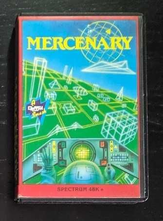 Jogos originais ZX Spectrum - Mercenary + Scooby-Doo