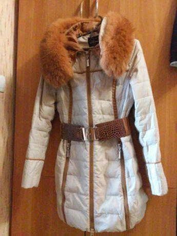 Підліткове зимове пальто (42 розмір)