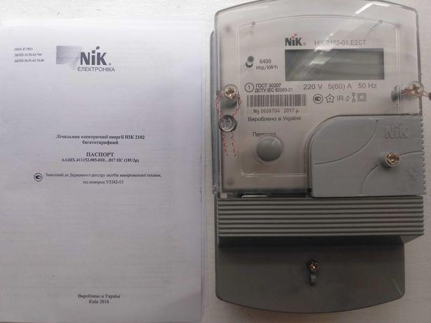 Счётчик электроэнергии НІК 2102