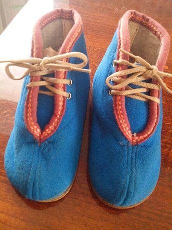 Ботинки, ботики.